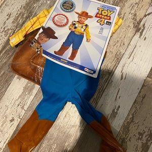 NEW 2t woody costume